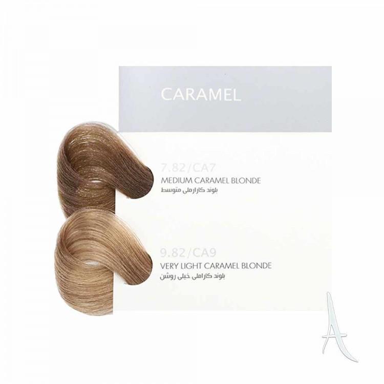 رنگ مو کاراملی بیول شماره 9.82 بلوند خیلی روشن 100 میلی لیتر