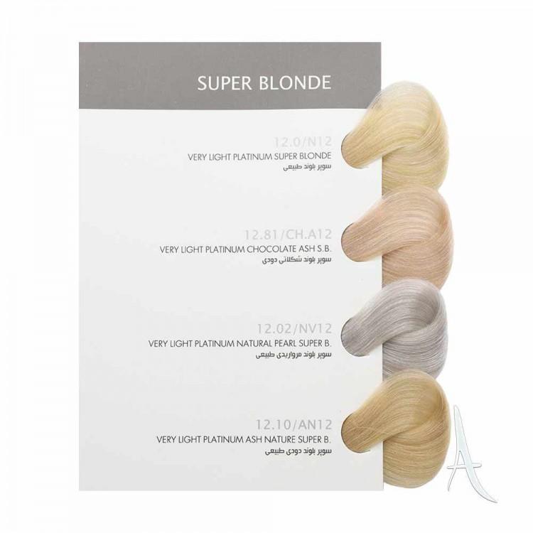 رنگ مو سوپر بلوند بیول شماره 12.0 بلوند طبیعی 100 میلی لیتر