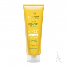 سینره کرم ضد آفتاب مینرال مخصوص پوست حساس اس پی اف 30+  50 میل