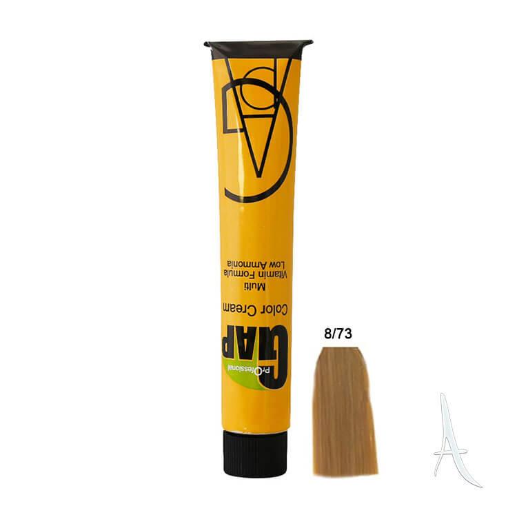 رنگ مو نسکافه ای گپ شماره 8.73 - 100 میلی لیتر