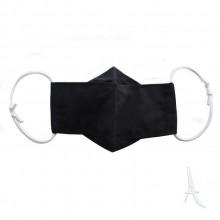 ماسک پارچه ای 3 لایه همسان مدل ارکیده
