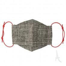 ماسک پارچه ای 3 لایه همسان مدل جوجه تیغی