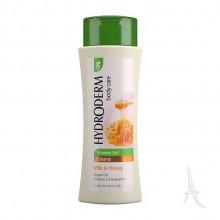 شامپو بدن کرمی هیدرودرم با رایحه شیر و عسل