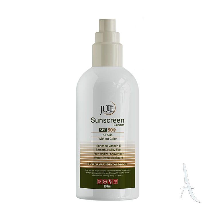 کرم ضد آفتاب ژوت اس پی اف 50 مخصوص انواع پوست  100 میلی لیتر