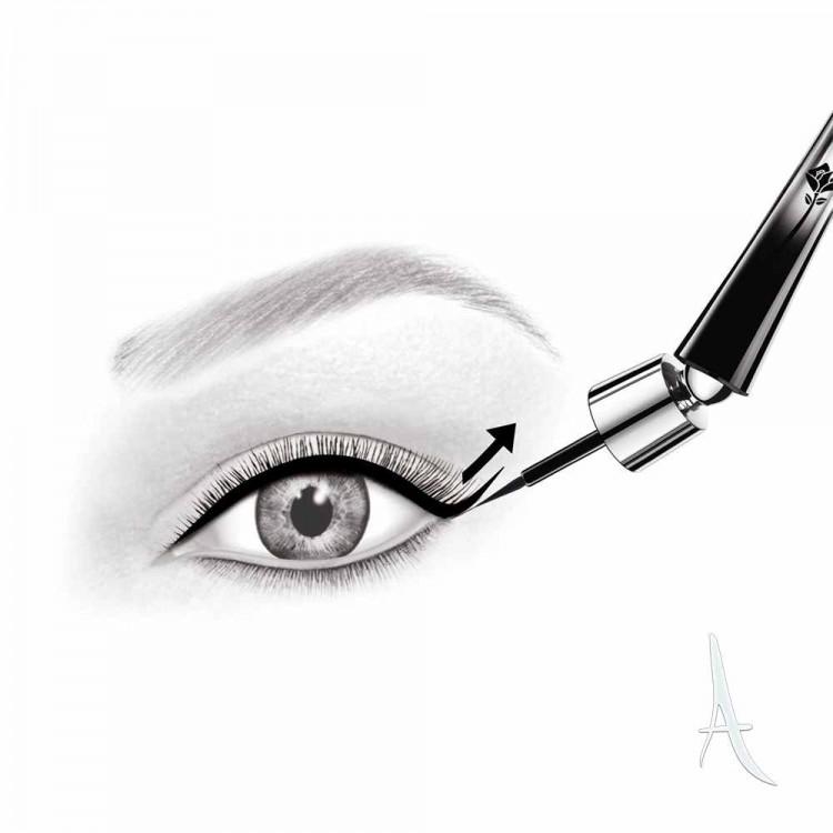 خط چشم کوزه ای گرندیوس لانکوم شماره 02