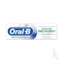 خمیر دندان سفید کننده PRO PURIFY اورال بی  75 میلی لیتر