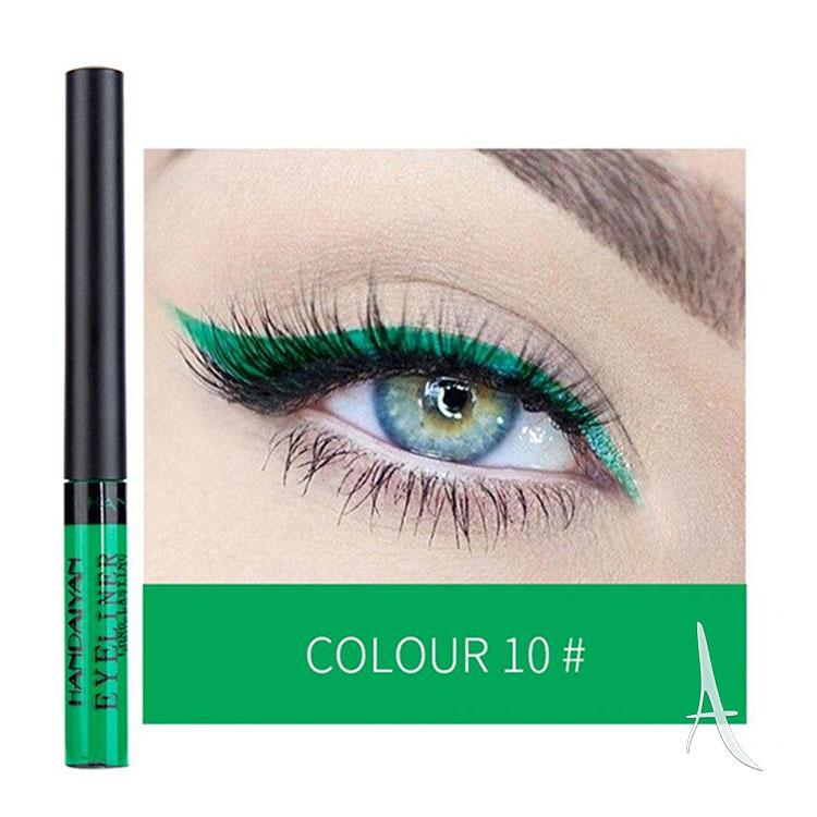 خط چشم رنگی هندیان شماره 10