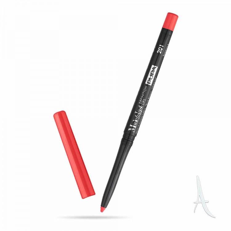 مداد لب پیچی پوپا شماره 201
