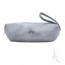 کیف آرایشی زنانه سفیر اکسسوریز رنگ نقره ای