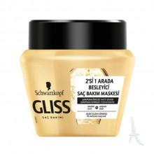 ماسک مو آرگان گلیس شوارتسکف مخصوص موهای حساس  300 میلی لیتر