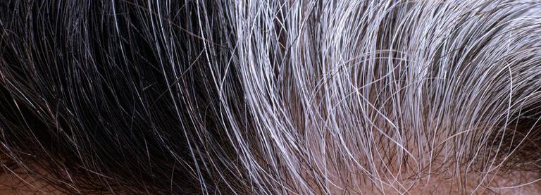 رنگ نگرفتن موی سفید